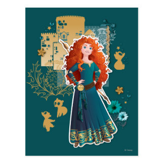 Merida - Confidence Makes Me Brave Postcard
