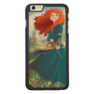 Merida | Let's Do This Carved® Maple iPhone 6 Plus Case