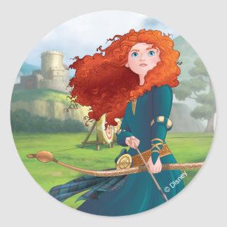 Merida | Let's Do This Round Sticker
