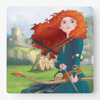 Merida | Let's Do This Square Wall Clock