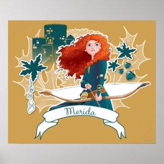 Mérida - princesse courageuse poster