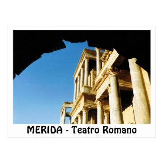 MERIDA - Romano Theater Postcard