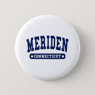 Meriden Connecticut College Style tee shirts 2 Inch Round Button