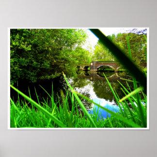 Meriden Lake Poster