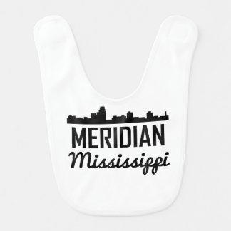 Meridian Mississippi Skyline Bib