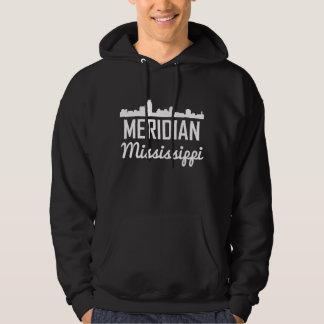 Meridian Mississippi Skyline Hoodie