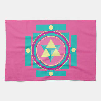 Merkaba Mandala Kitchen Towel