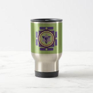 Merkaba Mandala Travel Mug