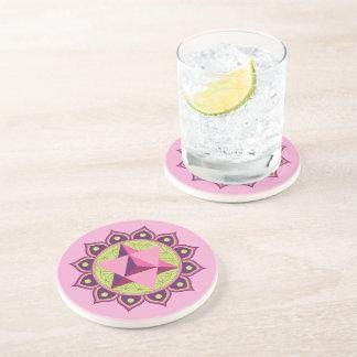 Merkaba on Flower of Life Coaster