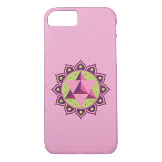 Merkaba on Flower of Life iPhone 8/7 Case