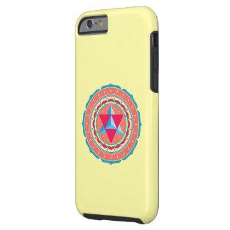 Merkaba on Flower of Life Tough iPhone 6 Case