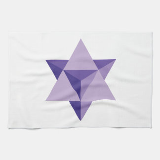 Merkaba Star Tetrahedron Kitchen Towel