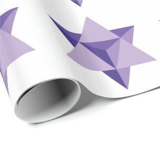 Merkaba Star Tetrahedron Wrapping Paper