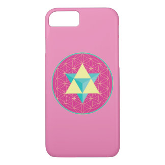 Merkaba with Flower of life iPhone 8/7 Case