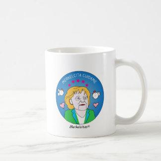 Merkelcita t-shirt Takes care of Blue Plis to me Coffee Mug