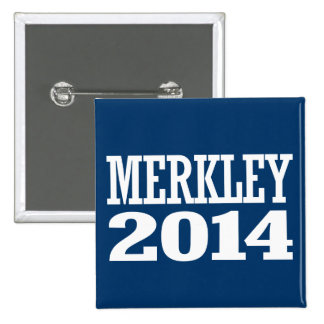 MERKLEY 2014 PINBACK BUTTON
