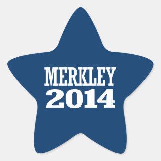 MERKLEY 2014 STAR STICKER