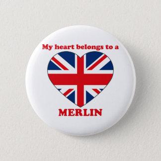 Merlin 2 Inch Round Button