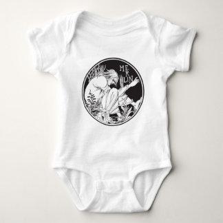 Merlin Aubrey Beardsley Baby Bodysuit