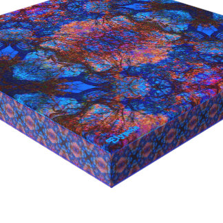 Merlin's Labyrinth Stretched Canvas Print