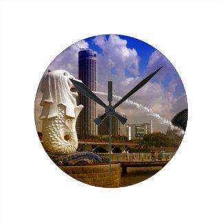 Merlion, Singapore Clocks