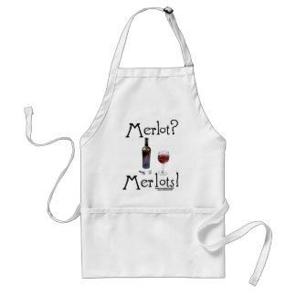 Merlot Apron Funny Red Wine Lovers Joke