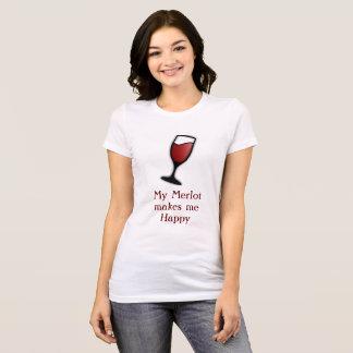Merlot Happiness T-Shirt