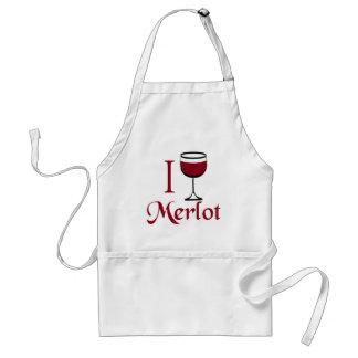 Merlot Wine Lover Gifts Standard Apron