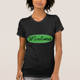 MERLOTTES black on green T-Shirt