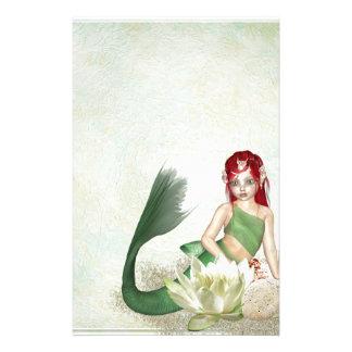 mermaid-1301877 stationery