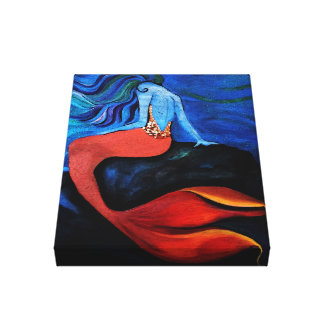 Mermaid 2 canvas print