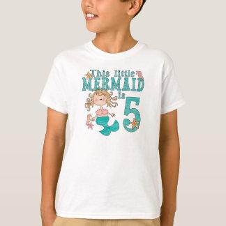 Mermaid 5th Birthday T-Shirt