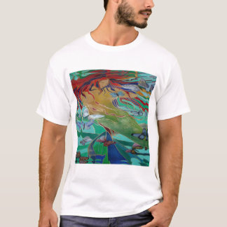 Mermaid and Butterflies T-Shirt