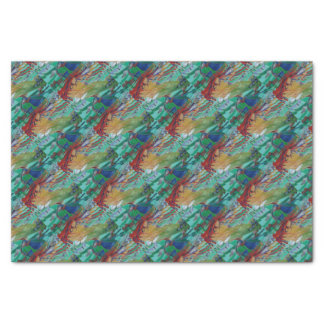 Mermaid and Butterflies Tissue Paper