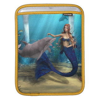 Mermaid and Dolphin Sleeves For iPads