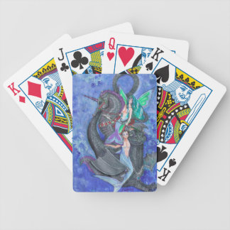 Mermaid and Merman Playing Cards
