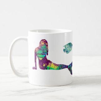 Mermaid and Octopus  coffee mug, beach, ocean Coffee Mug