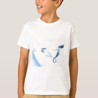 Mermaid and Puffin T-Shirt