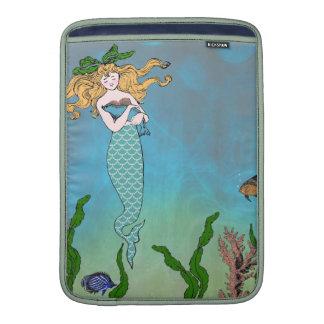 Mermaid and seal MacBook sleeves