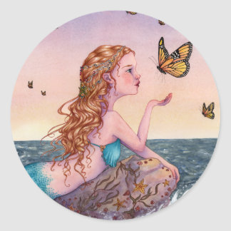 Mermaid Art Stickers - Bring Me Tidings