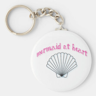 Mermaid at Heart Keychain