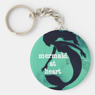Mermaid at Heart Keychain