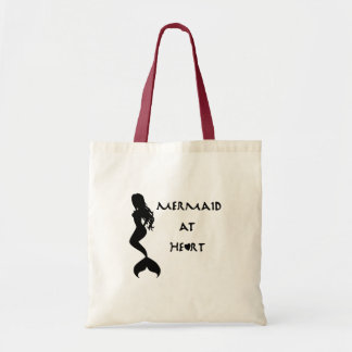 """""""Mermaid at Heart"""" Tote Bag"""