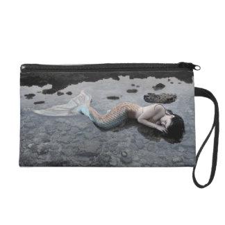 Mermaid at Low Tide Wristlet