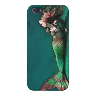 Mermaid at the bottom of the Sea iPhone 5 Case