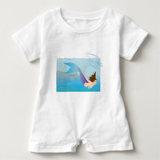 Mermaid Baby Romper