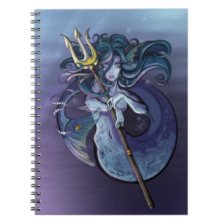 Mermaid Beautiful Art Illustration Notebooks