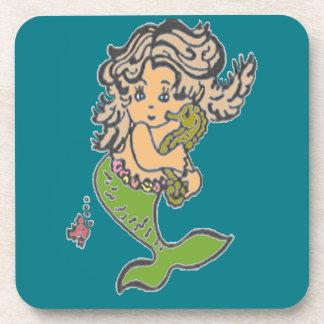 Mermaid Beverage Coaster