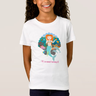 Mermaid Birthday Girl T-Shirt
