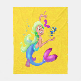 Mermaid Blanket cute cartoon